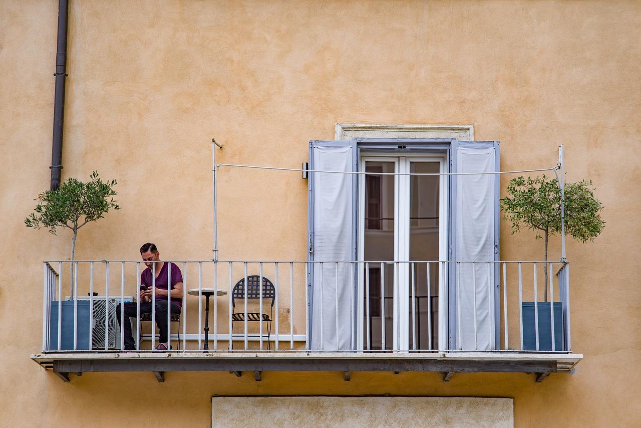 jardin de balcon et terrasse