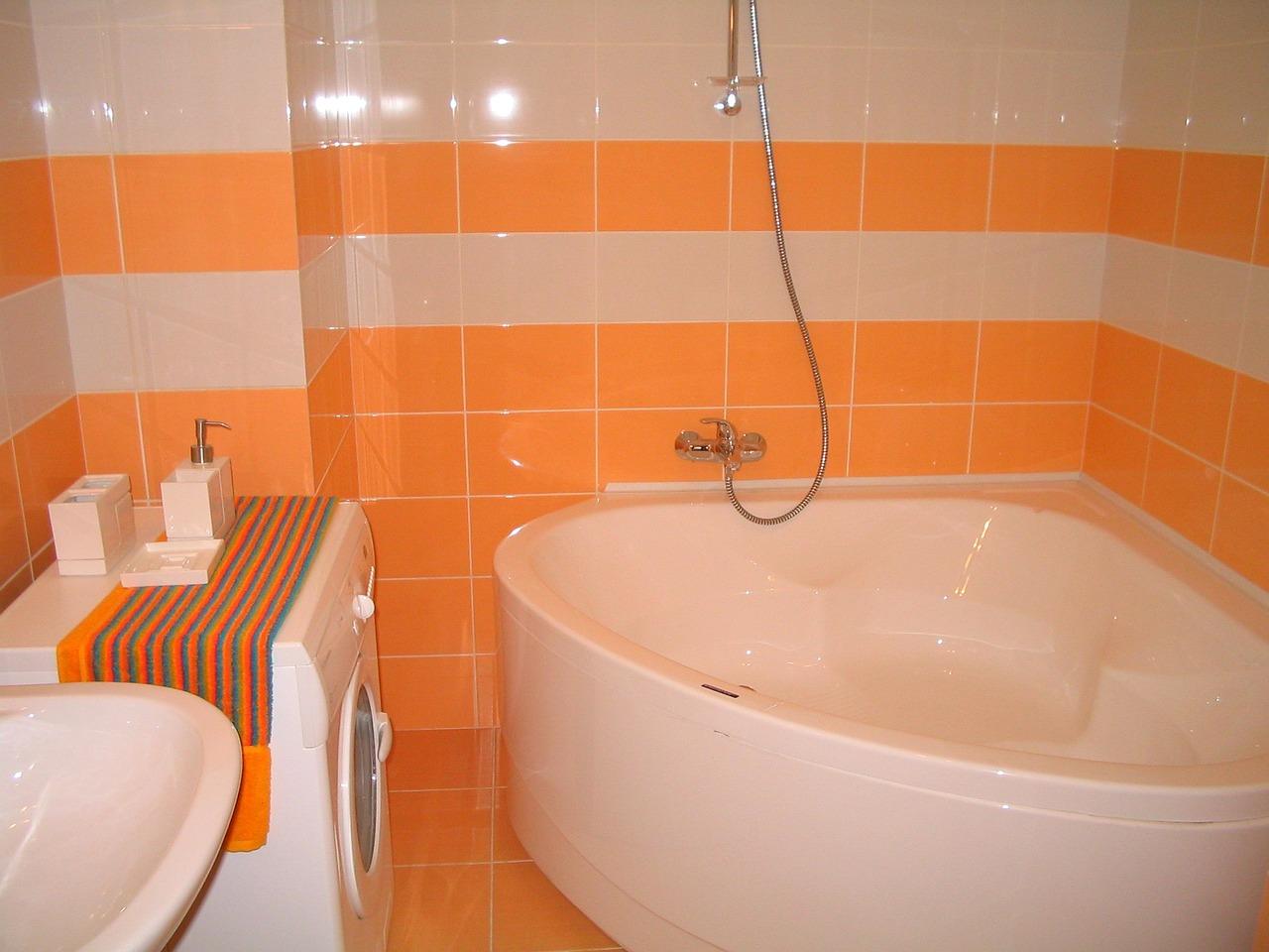 dessin détaillé de la salle de bain